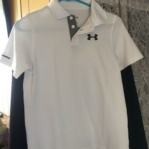 NWOT UNDER ARMOUR YOUTH BOYS MED.-HEAT GEAR LOOSE